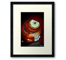 Art Deco staircase 2 Framed Print