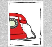Call me  on the red retro telephone Zipped Hoodie