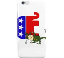 Dude, whatever, GOP iPhone Case/Skin