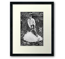 Sylvia and Raphael (5) Framed Print