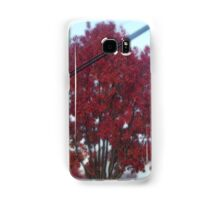 Surreal Red Tree Samsung Galaxy Case/Skin
