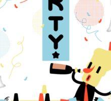 Game Jolt Party - Text Version Sticker
