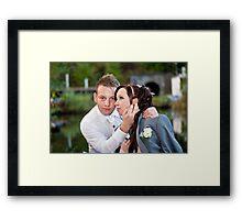 Sylvia and Raphael (4) Framed Print