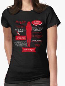 Sanctuary - Helen Magnus quotes (red/white design) T-Shirt