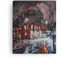 Lonely Evening Canvas Print
