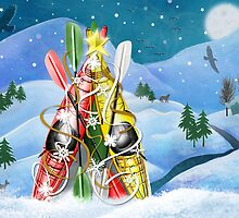 Kayak Christmas Tree - Wonders of Nature by katz1