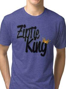 Zip Tie King Tri-blend T-Shirt