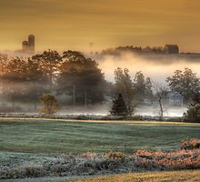 Sunrise on a Misty Morn by Amanda White