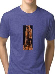 Orange Swirl  Tri-blend T-Shirt