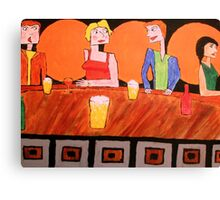 Jealousy at the Bar Canvas Print