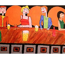 Jealousy at the Bar Photographic Print