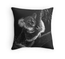 Tree Hugger - koala Throw Pillow