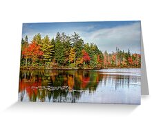Fall at Mount Uniacke Greeting Card