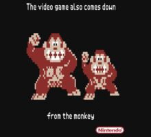 Video game and monkey by MrJib4