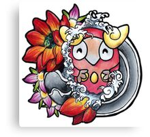 Darumaka - Pokemon tattoo art Canvas Print