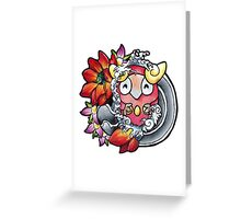 Darumaka - Pokemon tattoo art Greeting Card