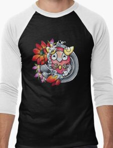 Darumaka - Pokemon tattoo art Men's Baseball ¾ T-Shirt