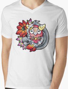 Darumaka - Pokemon tattoo art Mens V-Neck T-Shirt