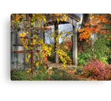 All Signs Point to Fall Canvas Print