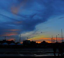 Typical Bogotá sunset by Camila Bruce Photography