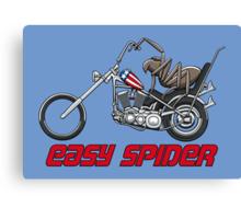 Easy Spider Canvas Print