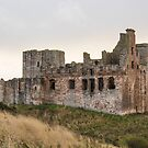 Crichton Castle by Margaret S Sweeny
