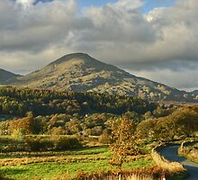 The Coniston Fells in November by Jamie  Green
