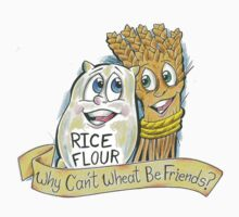 Why Can't Wheat Be Friends? - Banner by WCWBF