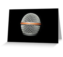 Music .. Mic! Greeting Card