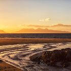 Camusdarach Sunset by derekbeattie