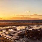 Camusdarach Sunset by derekbeattie