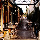 Alley Dining by Bob Wall