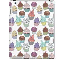 Sweet cupcakes. Tasty print iPad Case/Skin