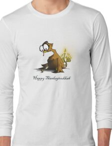Happy Thanksgivukkah Long Sleeve T-Shirt