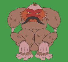 Pangu The Moustachioed One Piece - Short Sleeve
