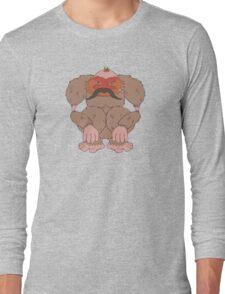 Pangu The Moustachioed Long Sleeve T-Shirt