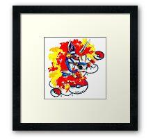 Rapidash - Pokemon Tattoo Inspiration Framed Print