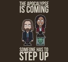 Sleepy Hollow: Someone Has To Step Up (shirt) by redscharlach
