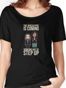 Sleepy Hollow: Someone Has To Step Up (shirt) Women's Relaxed Fit T-Shirt