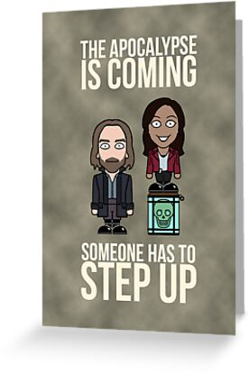 Sleepy Hollow: Someone Has To Step Up (card) by redscharlach