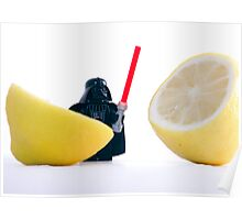 Darth Lemon. Poster