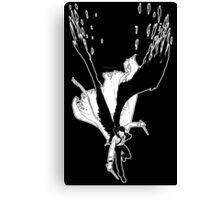 Angel Slayer (dark version) Canvas Print