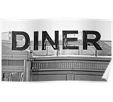 Wichita Falls Diner Poster