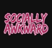 Pink Socially Awkward by Jason Moncrise