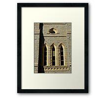 Gothic Windows Framed Print