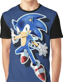 Blue Blur Graphic T-Shirt