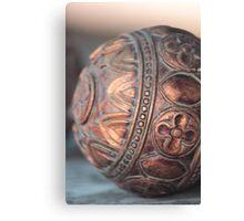 Antique Copper Sphere Canvas Print