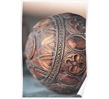 Antique Copper Sphere Poster