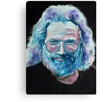 Jerry Garcia Smiled At Me Canvas Print