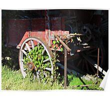 Farm Wagon Poster